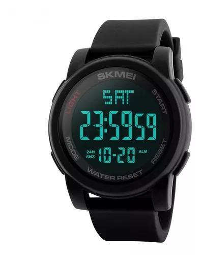 Relógio skmei esportivo digital à prova d'água original