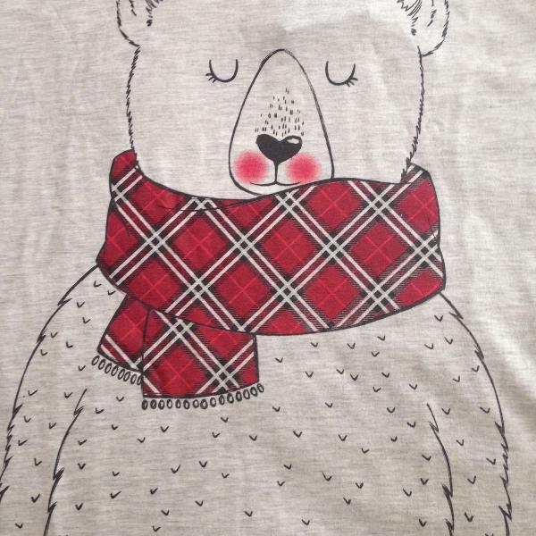 Sleep t-shirt manga longa