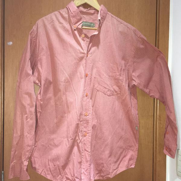 Blusa quadriculada (manga comprida)