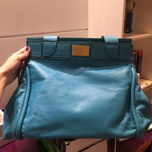Bolsa azul maria bonita extra