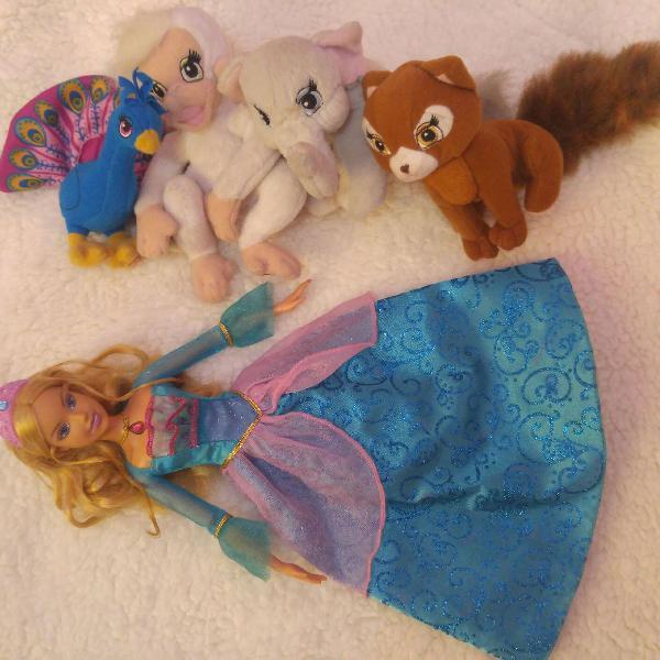 Boneca barbie em a princesa da ilha original mattel barbie