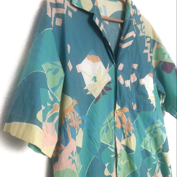 Camisa estampada vintage