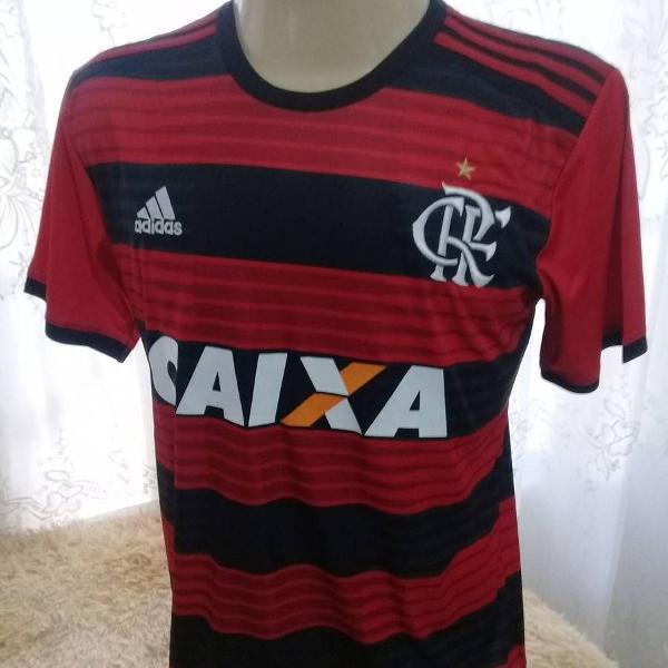 Camisa flamengo adidas stadium tamanho; m