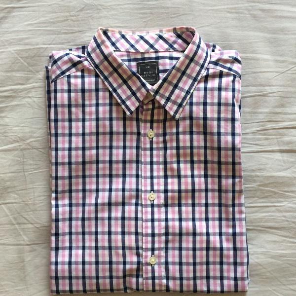 Camisa xadrez gap
