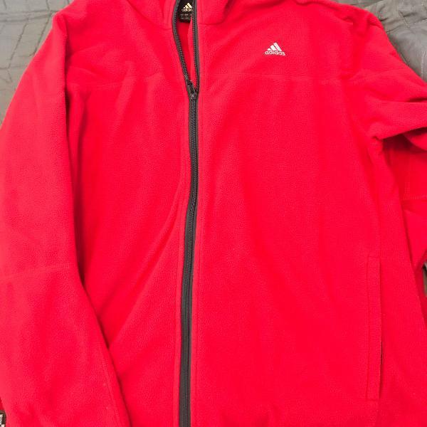 Casaco adidas vermelho