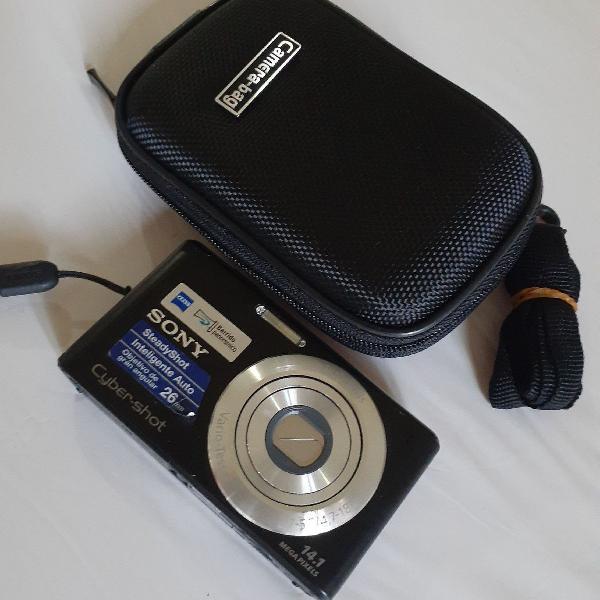 Câmera foto sony dsc-w530 14.1mp