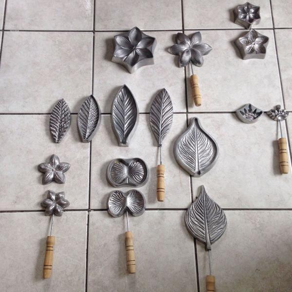 Kit de frisadores de eva em alumínio fundido