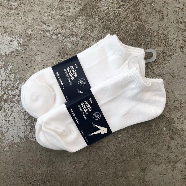 Meias algodão gap