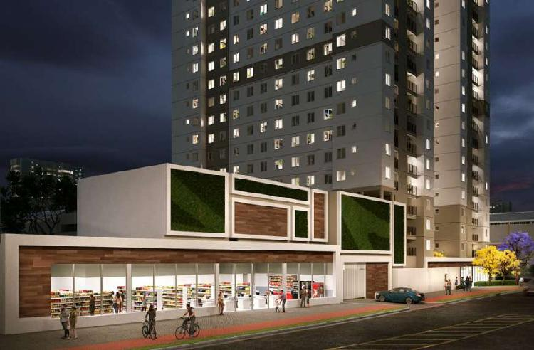 Apartamento com 2 quartos à venda, 33 m² por r$ 159.000