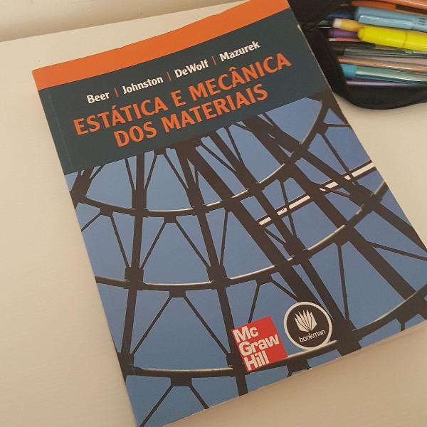 Book engenaria civil- estática e mecânica dos materiais
