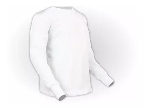 Camiseta manga longa infantil algodão
