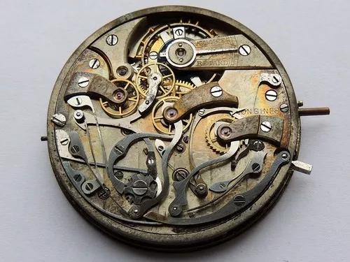 Cronógrafo longines calibre 19.73n - máquina completa