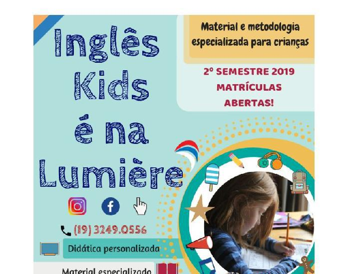 Curso de inglês kids