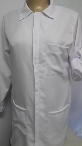 Jaleco masculino com ziper + brinde