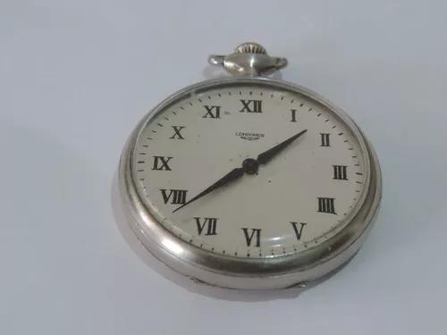 Lindo e antigo relógio de bolso suiço marca longines