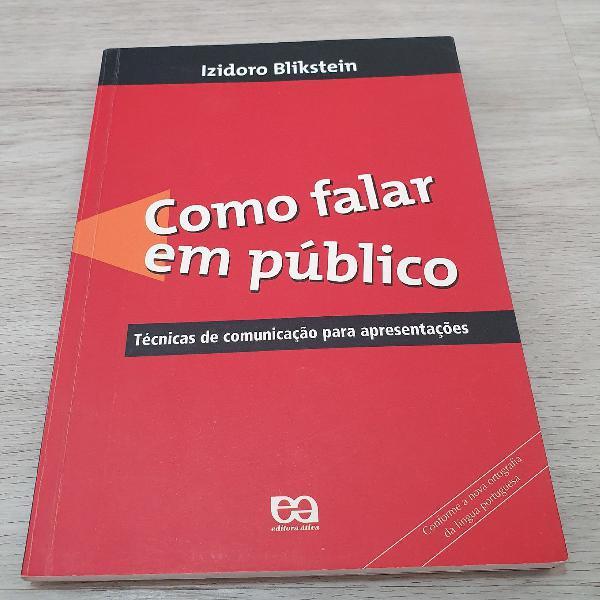 Livro como falar em público