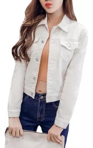 M fit jaqueta lavado brim botão para baixo brim jean