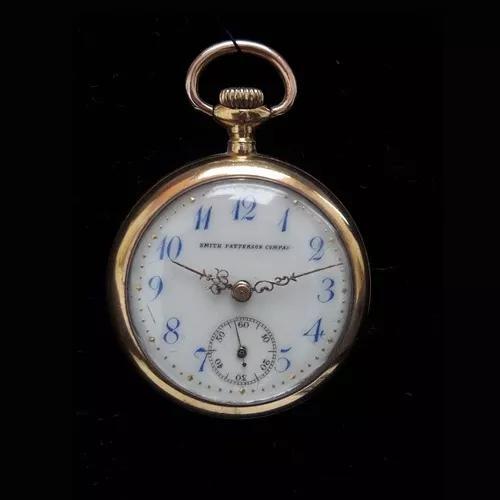 Relógio bolso antigo ouro 14k colecionador corda raridade