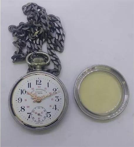 Relógio bolso roskopf patent (parado utilização de