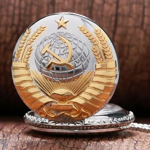 Relógio de bolso antigo dourado original pronta entrega