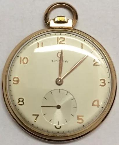 Relógio de bolso cyma caixa