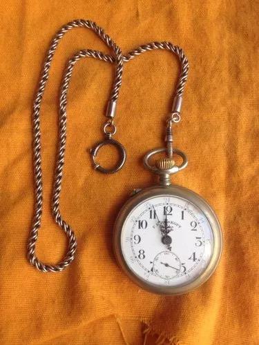 Relógio de bolso f. e roskopf patent 18632 ferroviário