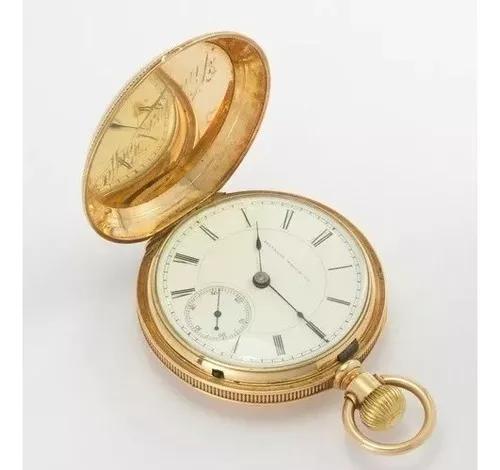 Relógio de bolso illinois watch co