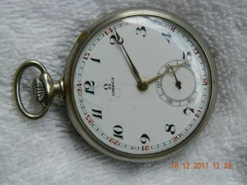 Relógio de bolso omega antigo - 48mm