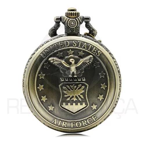 Relógio de bolso united states air force força aérea