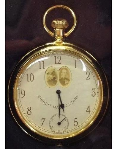 Relógio einheit macht stark bolso quartz, 51mm de diâmetro
