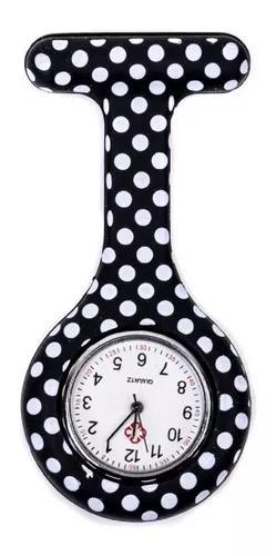 Relógio lapela silicone enfermeiras ball1 pronta entrega