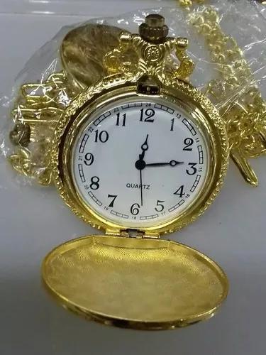Relógios de bolso prata/dourado
