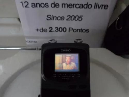 Tv pocket casio antig s rádio portátil ñ citizen relógio