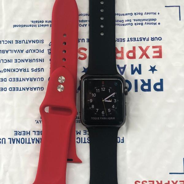 Apple watch serie 1 42mm gps - semi novo