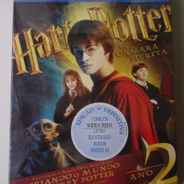 Blu-ray harry potter: câmara secreta: ano 2 - ed.