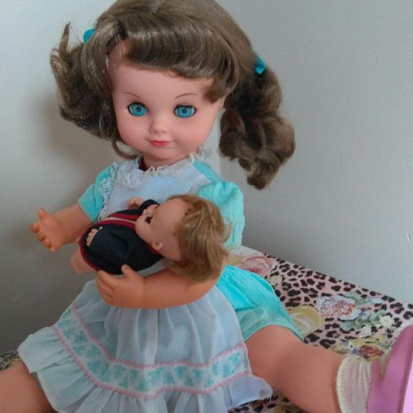 Boneca mãezinha anos 80