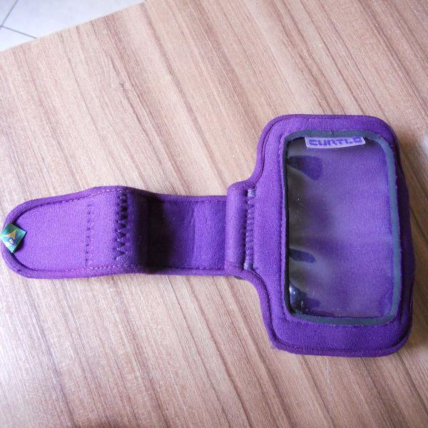 Braçadeira armband porta celular curtlo