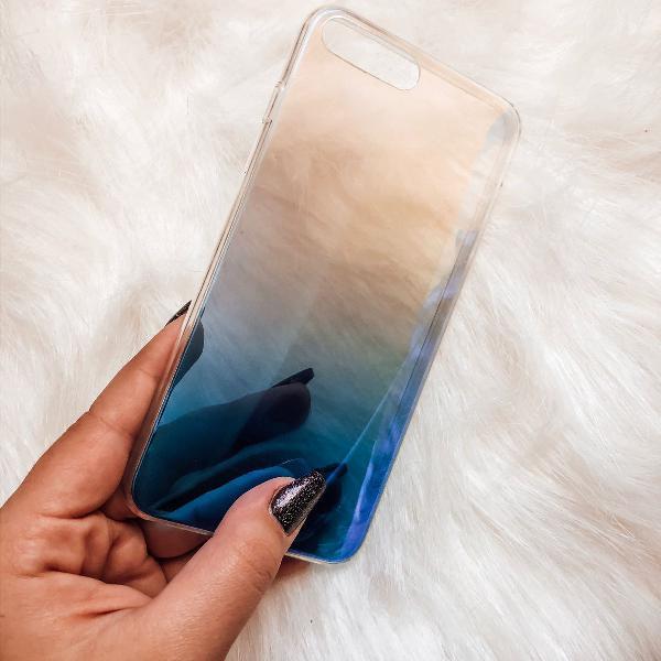 Case espelhada iphone 8 plus