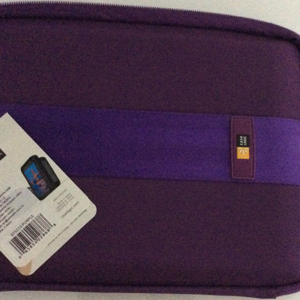 Case para tablet / ipad case logic (purple ).