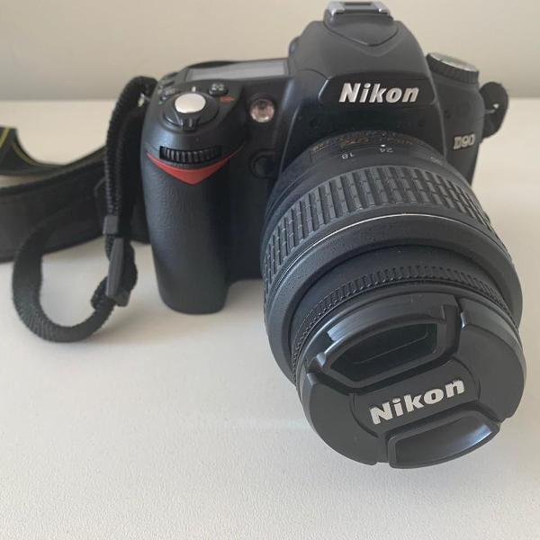 Câmera fotográfica profissional nikon d90