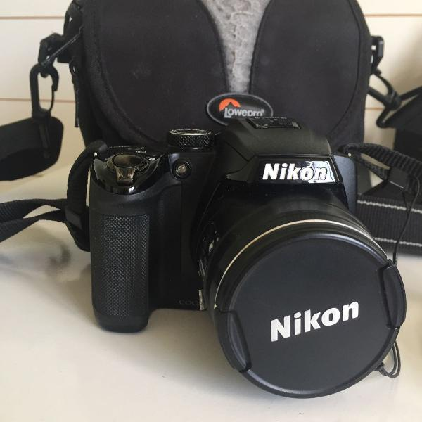 Câmera nikon coolpix p500 semi profissional