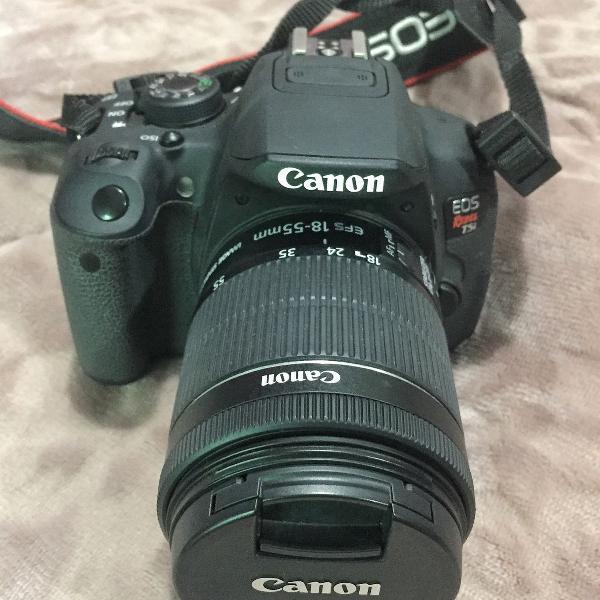 Câmera profissional de entrada