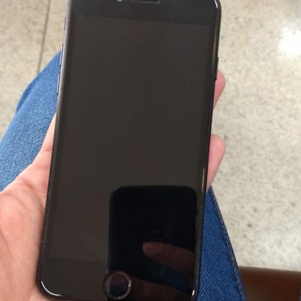 Iphone 7 preto matte, 128gb