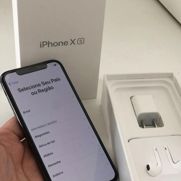 Iphone xs 64gb preto