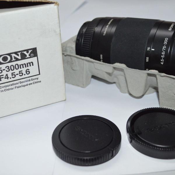 Lente sony 75-300mm f/4-5.6iii