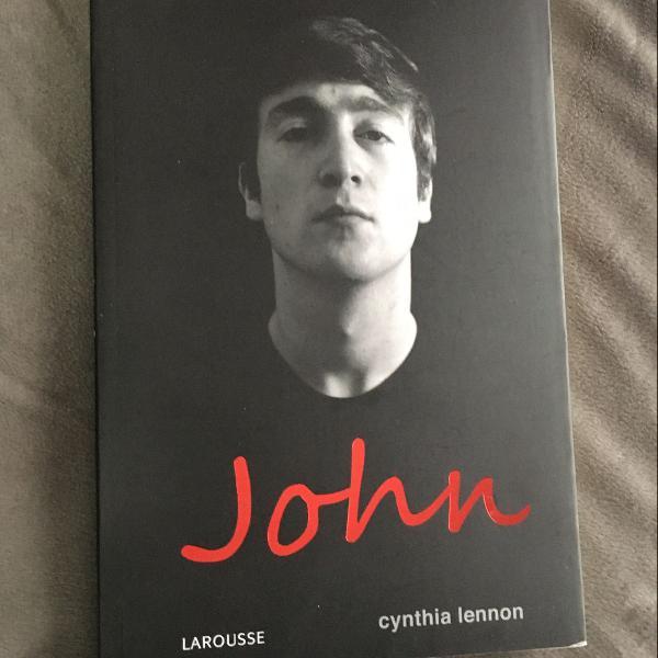 Livro biografia do john lennon