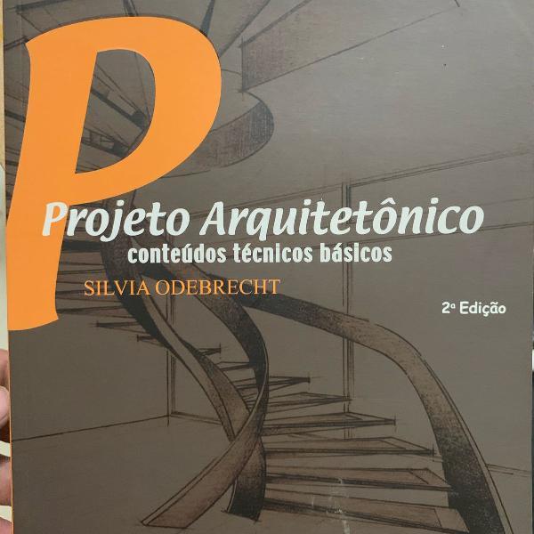 Livro projeto arquitetônico - silvia odebrecht