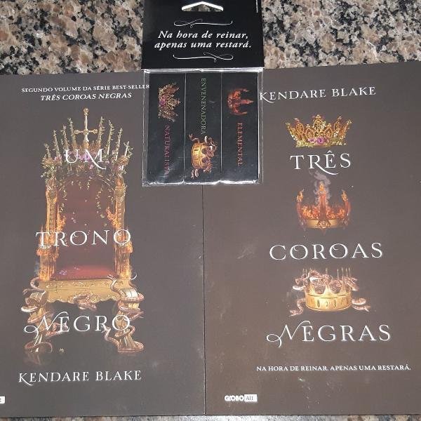 Livros três coroas negras