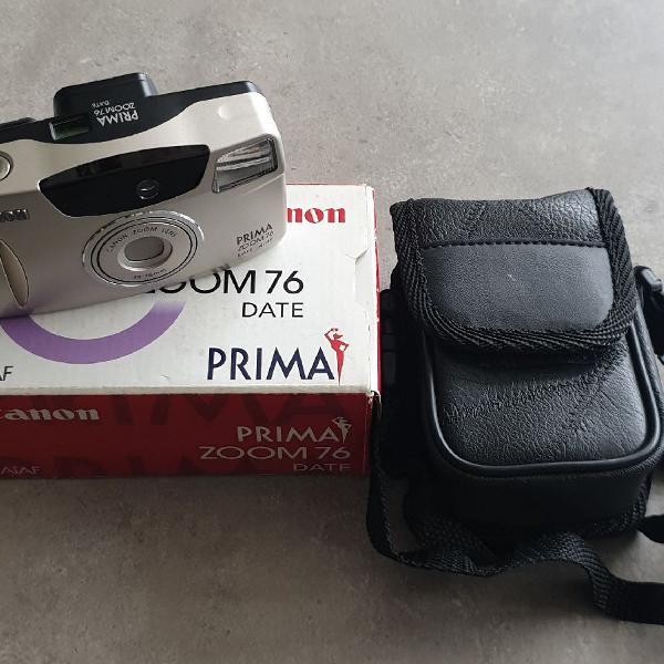Maquina fotográfica analógica canon zoom 76