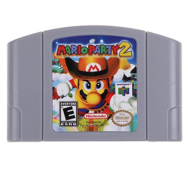 Mario party 2 americano não salva nintendo 64 n64